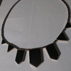 Black piece neclace